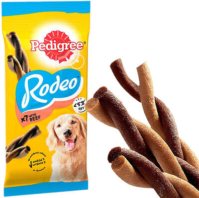 Pedigree Rodeo Biftekli Köpek Ödülü 123 Gr (7 Sticks)
