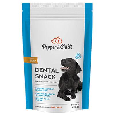 Pepper&Chilli Dental Snack Diş Sağlğı Tahılsız Köpek Ödülü 200 Gr