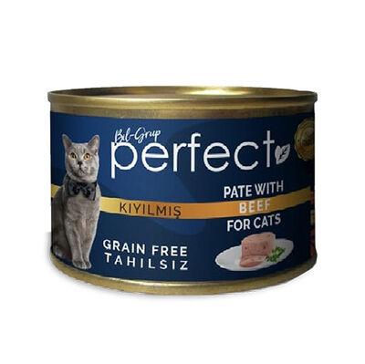 Perfect Beef Pate Kıyılmış Biftekli Tahılsız Kedi Konservesi 80 Gr