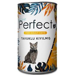 Perfect - Perfect Chicken Ezme Tavuk Eti Kıyılmış Yetişkin Kedi Konservesi 400 Gr