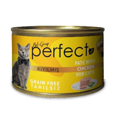 Perfect Chicken Pate Kıyılmış Tavuklu Tahılsız Kedi Konservesi 80 Gr