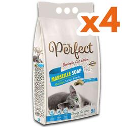 Perfect - Perfect İnce Taneli Marsilya Sabunlu Topaklanan Kedi Kumu 5 Lt