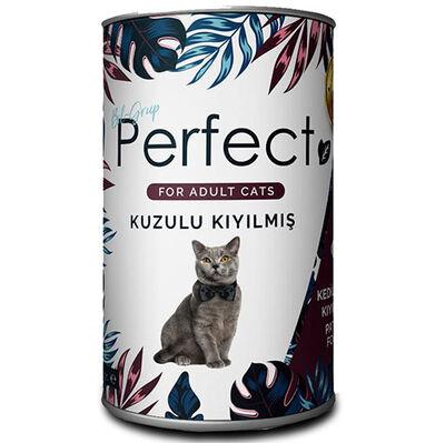 Perfect Lamb Ezme Kuzu Eti Kıyılmış Yetişkin Kedi Konservesi 400 Gr