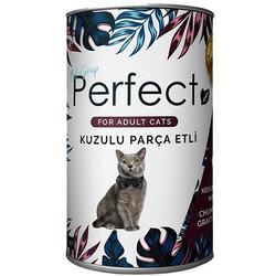 Perfect - Perfect Lamb Kuzu Eti Parçacıklı Yetişkin Kedi Konservesi 400 Gr