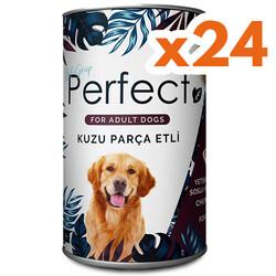 Perfect - Perfect Lamb Kuzu Etli Köpek Konservesi 400 Gr x 24 Adet