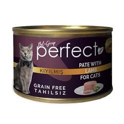 Perfect - Perfect Lamb Pate Kıyılmış Kuzu Etli Tahılsız Kedi Konservesi 80 Gr