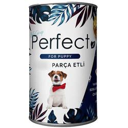 Perfect - Perfect Puppy Sığır Etli Yavru Köpek Konservesi 400 Gr