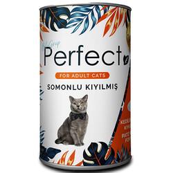 Perfect - Perfect Salmon Ezme Somonlu Kıyılmış Yetişkin Kedi Konservesi 400 Gr