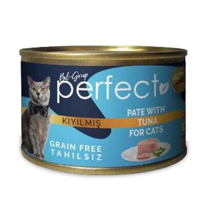 Perfect Tuna Pate Kıyılmış Ton Balıklı Tahılsız Kedi Konservesi 80 Gr