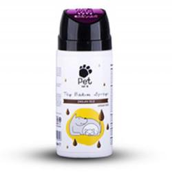 Pet Love - Pet Love Çikolata Aromalı Kedi ve Köpek Tüy Bakım Spreyi 150 ML