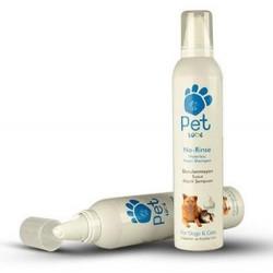 Pet Love - Pet Love 60004 Durulanmayan Susuz Kedi ve Köpek Köpük Şampuan 300 ML