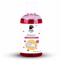 Pet Love - Pet Love Strawberry Çilek Aromalı Kedi ve Köpek Şampuanı 250 ML