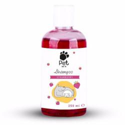 Pet Love - Pet Love Strawberry Çilek Aromalı Kedi ve Köpek Şampuanı 250 ML