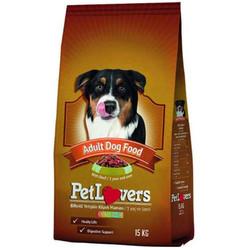 Pet Lovers - Pet Lovers Bitfekli ve Sebzeli Yetişkin Köpek Maması 15 Kg