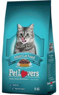 Pet Lovers Tavuk Etli Yetişkin Kedi Maması 15 Kg