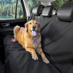 Pet Pretty Araba için Koltuk Örtüsü Siyah - Thumbnail