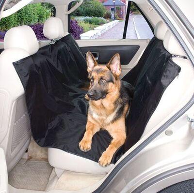 Pet Pretty Araba için Koltuk Örtüsü Siyah