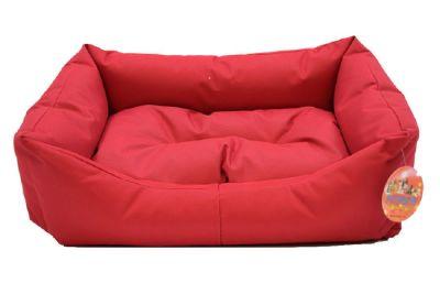 Pet Pretty Dış Mekan Kolay Temizlenen Kedi ve Köpek Yatağı No: 2 Kırmızı