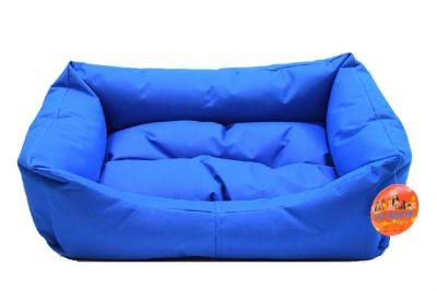 Pet Pretty Dış Mekan Kolay Temizlenen Kedi ve Köpek Yatağı No: 2 Mavi