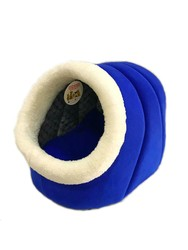 Pet Pretty - Pet Pretty Eskimo Polarlı Kedi ve Küçük Irk Köpek Yuvası Mavi