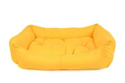 Pet Pretty İç Mekan Kolay Temizlenen Kedi ve Köpek Yatağı No: 1 Sarı
