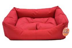 Pet Pretty - Pet Pretty İç Mekan Kolay Temizlenen Kedi ve Köpek Yatağı No:2 Kırmızı
