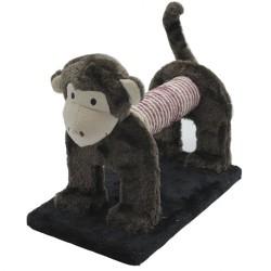 Pet Pretty - Pet Pretty Sevimli Maymun Kedi Tırmalama Platformu 29x18x25