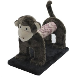 Pet Pretty - Pet Pretty Sevimli Maymun Kedi Tırmalama Platformu 29 x 18 x 25