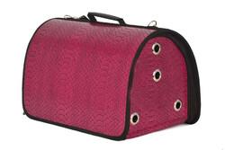 Pet Pretty - Pet Pretty Skinned Flybag Kedi ve Köpek Taşıma Çantası 28 x 44 x 28 Cm Fuşya