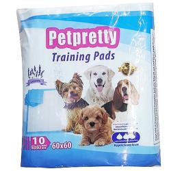 Pet Pretty - Pet Pretty Traninig Lavantalı Tuvalet Eğitim Pedi 60 x 60 Cm (10 Adet)