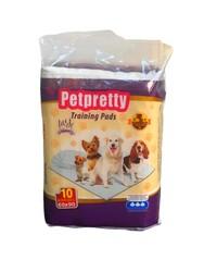 Pet Pretty - Pet Pretty Traninig Lavantalı Tuvalet Eğitim Pedi 60 x 90 Cm (10 Adet)