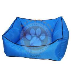 Pet Style - Pet Style Y0013-M Kolay Temizlenen Kedi ve Köpek Yatağı Mavi No:03