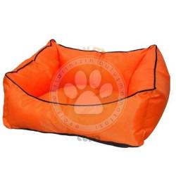 Pet Style - Pet Style Y0013-T Kolay Temizlenen Kedi ve Köpek Yatağı Turuncu No:02