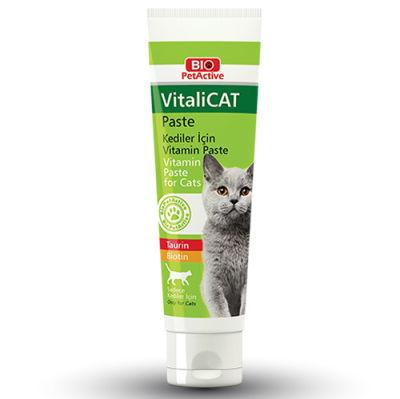 Bio Pet Active VitaliCat Pasta Taurin ve Biotinli Kedi Ödülü 100 ML