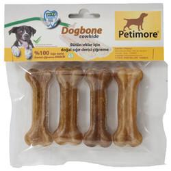 Petimore - Petimore Naturel Pres Köpek Kemiği Xs 7 Cm ( 4'lü Paket )