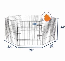 Petmate - Petmate 55011 Katlanabilir Panel Çit ( 61 x 61 Cm )