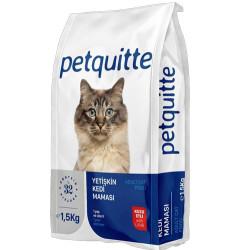 Petquitte - Petquitte Lamb Kuzu Etli Yetişkin Kedi Maması 1,5 Kg