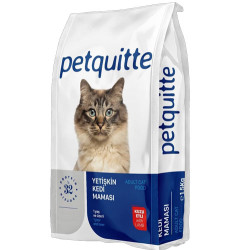 Petquitte - Petquitte Lamb Kuzu Etli Yetişkin Kedi Maması 15 Kg