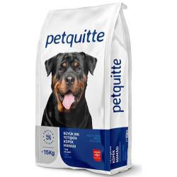 Petquitte - Petquitte Large Breed Kuzu Etli Büyük Irk Köpek Maması 15 Kg