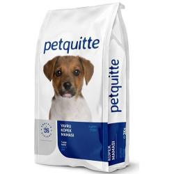 Petquitte - Petquitte Puppy Kuzu Etli ve Balıklı Yavru Köpek Maması 3 Kg