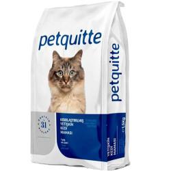 Petquitte - Petquitte Sterilised Kuzu ve Balık Etli Kısırlaştırılmış Kedi Maması 15 Kg
