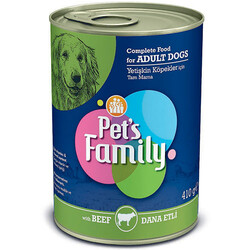 Pets Family - Pets Family Beef Dana Etli Köpek Konservesi 410 Gr