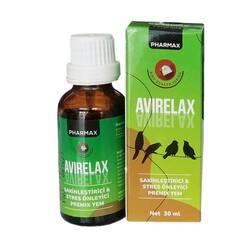 Pharmax - Pharmax Avirelax Kuş Stres Önleyici 30 ML