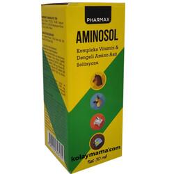 Canvit - Pharmax Canvit Aminosol Vitamin ve Aminoasit Solüsyonu 30 ML