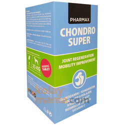 Pharmax - Pharmax Chondro Süper Eklem Sağlığı Köpek Tableti (70 Tablet - 125 Gr)