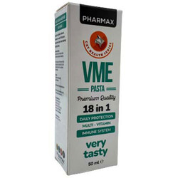 Pharmax - Pharmax VME Pasta Multi Vitamin Kedi Macunu 50 ML