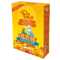Polo - Polo Ballı Muhabbet Kuşu Krakeri 10lu Paket