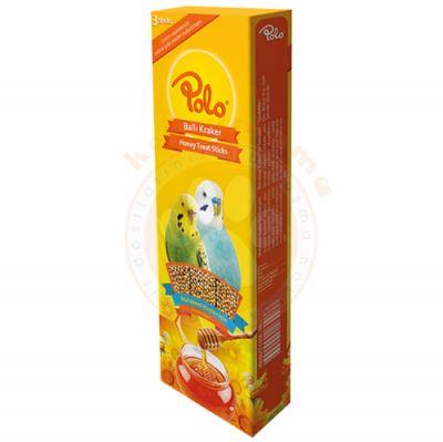 Polo Ballı Muhabbet Kuşu Krakeri 3lü Paket (95 Gr)