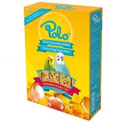 Polo - Polo Ballı Yumurtalı Muhabbet Kuşu Krakeri 10lu Paket
