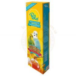 Polo - Polo Ballı Yumurtalı Muhabbet Kuşu Krakeri 3lü Paket (95 Gr)